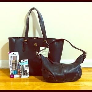 OFFERS?? Coach bag & NWT ANNE KLEIN bag bundle !!